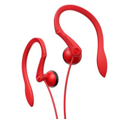 Sluchátka Pioneer SE-E511R červená