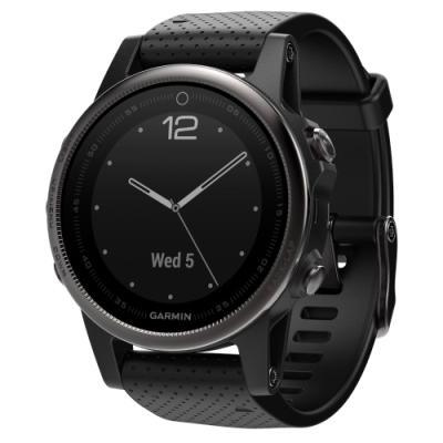 Sportovní hodinky Garmin fenix5S Sapphire černé