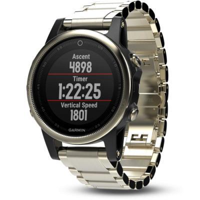 Sportovní hodinky Garmin fenix5S Sapphire zlaté