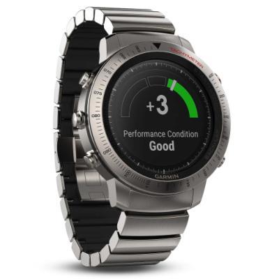 Sportovní hodinky Garmin fenix Chronos titanové