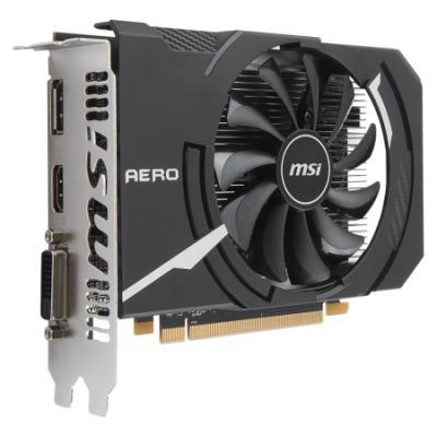 Grafická karta MSI Radeon RX 550 AERO ITX OC 2G