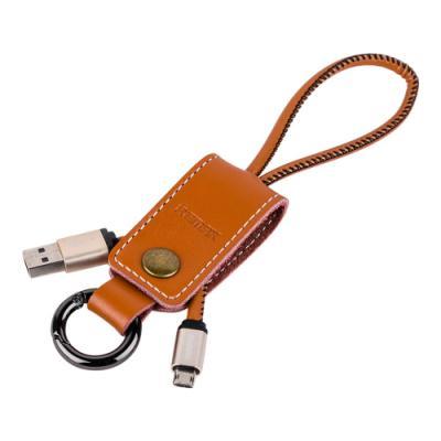 Kabel REMAX USB 2.0 na micro USB 32cm hnědý