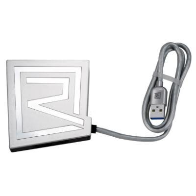 USB Hub REMAX Rhyden RU-U7 stříbrný
