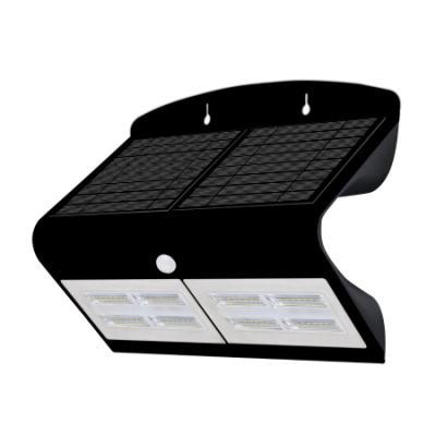 LED reflektor IMMAX solární s čidem 6,8W černý