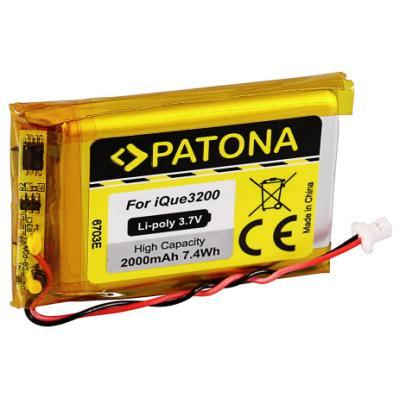 Baterie PATONA pro Garmin iQue 3200 2000 mAh