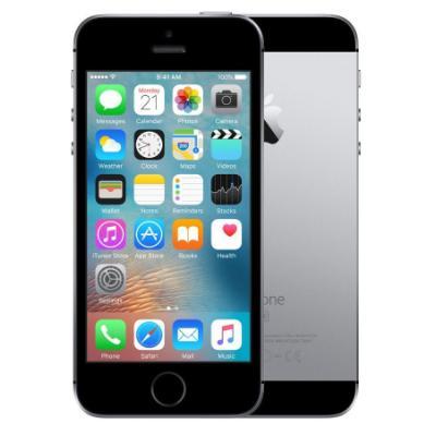 Mobilní telefon Apple iPhone SE 128 GB šedý