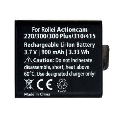 Baterie Rollei pro videokamery ActionCam 900 mAh