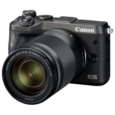 Digitální fotoaparát Canon EOS M6 + EF-M 18-150