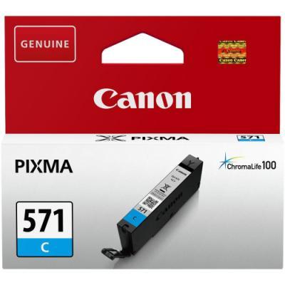 Inkoustová náplň Canon CLI-571C modrá