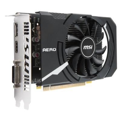 Grafická karta MSI GeForce GTX 1050 Ti AERO ITX 4G