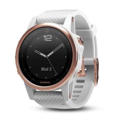 Sportovní hodinky Garmin fenix5S Sapphire růžové