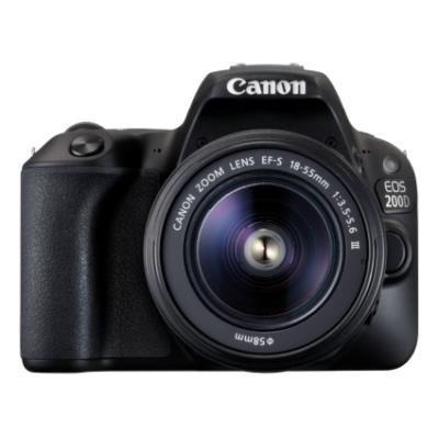 Zrcadlovka Canon EOS 200D + 18-55 DC III