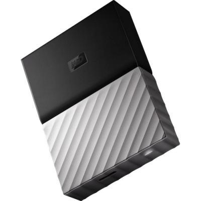 Pevný disk WD My Passport Ultra 4TB černo-šedý