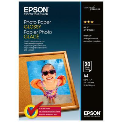 Fotopapír Epson Glossy A4 20 ks