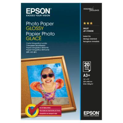 Fotopapír Epson Glossy A3+ 20 ks