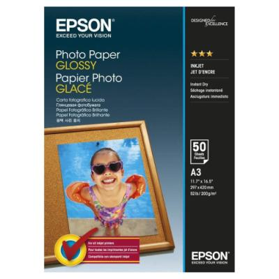 Fotopapír Epson Glossy A3 50 ks