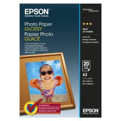 Fotopapír Epson Glossy A3 20 ks