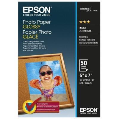 Fotopapír Epson Glossy 13x18 cm 50 ks