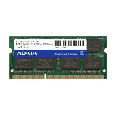 Operační paměť ADATA DDR3 8GB 1600MHz