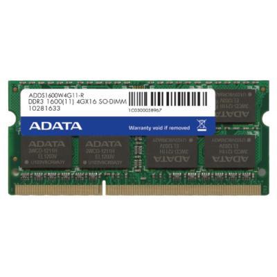 Operační paměť ADATA Premier DDR3 4 GB 1600 MHz