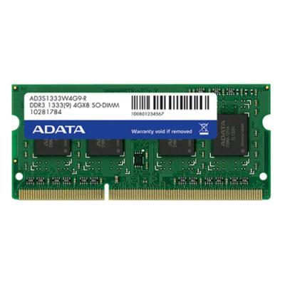 Operační paměť ADATA Premier DDR3 4 GB 1333 MHz