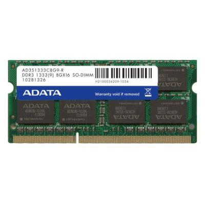Operační paměť ADATA Premier DDR3 8 GB 1333 MHz