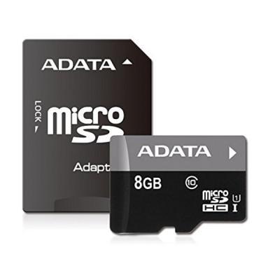 Paměťová karta ADATA Premier Micro SDHC 8GB
