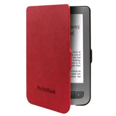 Pouzdro PocketBook pro 614 černo - červené