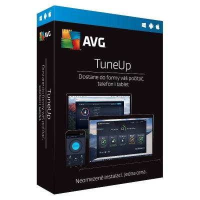 Software AVG TuneUp předplatné 2 roky