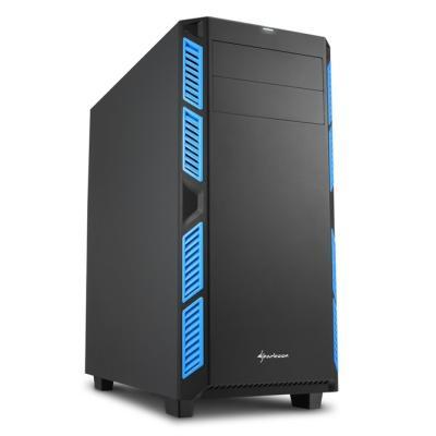 Skříň Sharkoon AI7000 Silent modrá