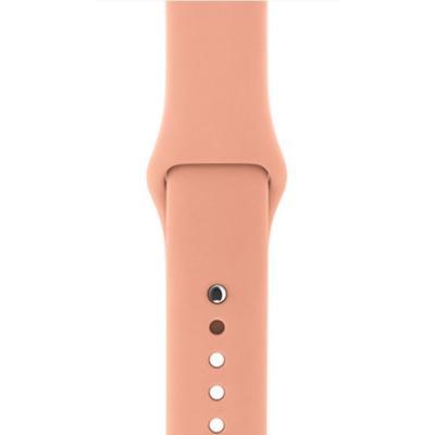 Řemínek Apple Flamingo Sport 38 mm světle růžový