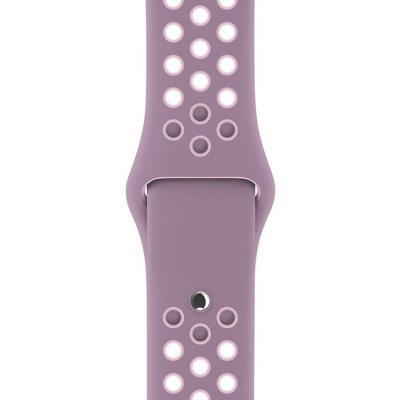 Řemínek Apple Nike Sport Band 38 mm fialový