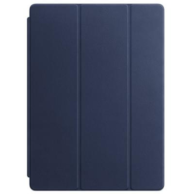 "Pouzdro Apple Leather Smart Cover 12,9"" modré"