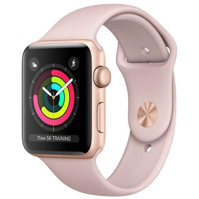 Chytré hodinky Apple Watch 3 GPS 42mm růžové