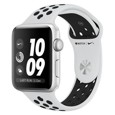 Chytré hodinky Apple Watch Nike+ 3 GPS 42mm bílé