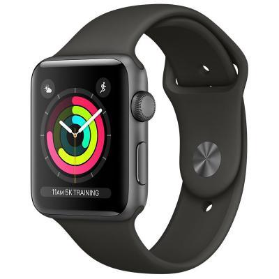 Chytré hodinky Apple Watch 3 GPS 38mm šedé