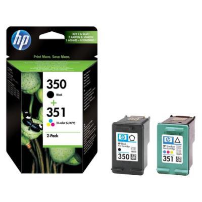 Inkoustová náplň HP 350 + 351 (SD412EE) CMYK