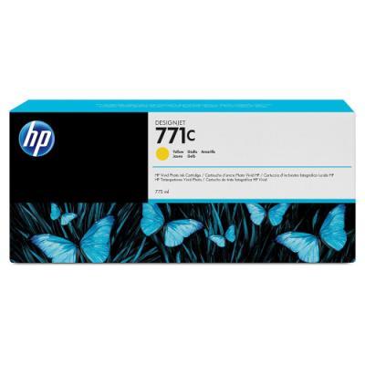 Inkoustová náplň HP 771C (B6Y10A) žlutá