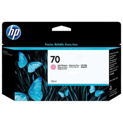 Inkoustová náplň HP 70 (C9455A) červená