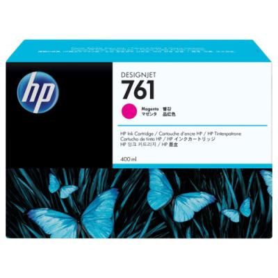 Inkoustová náplň HP 761 (CM993A) červená