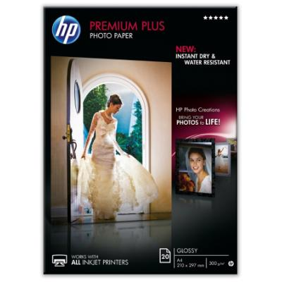 Fotopapír HP Premium Plus Photo Paper A4 20 ks