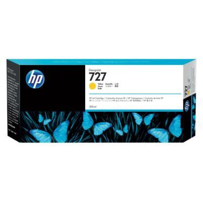 Inkoustová náplň HP 727 (F9J78A) žlutá