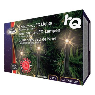 Vánoční osvětlení HQ 200x LED 17,42 m