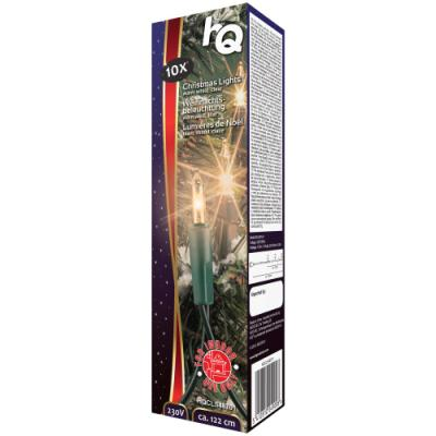 Vánoční osvětlení HQ 10x žárovka 1,22 m