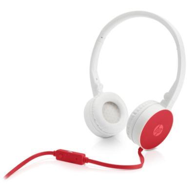 Headset HP H2800 červeno - bílý