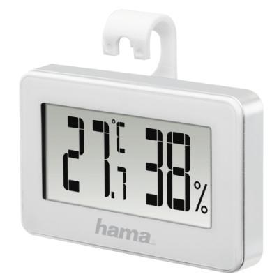 Meteostanice Hama Mini bílá