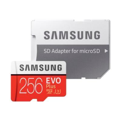 Paměťová karta Samsung EVO Plus Micro SDXC 256GB