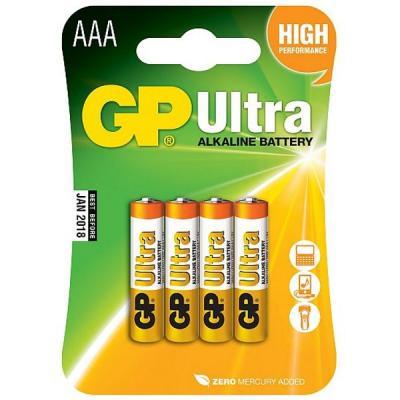 Baterie GP AAA alkalické 4ks