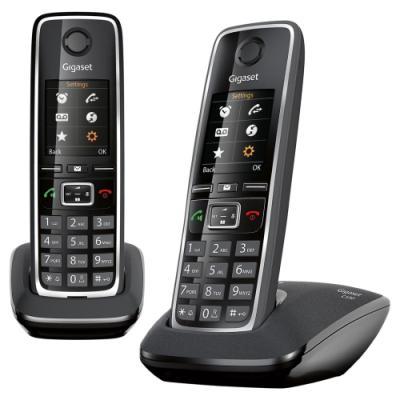 Bezdrátový telefon Siemens GIGASET C530 DUO černý