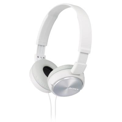 Sluchátka Sony MDRZX310 bílá